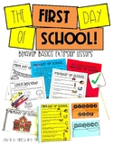 First Day of School-  Behavior Basics Extension Lessons