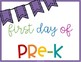 First Day of School + Birthday Signs