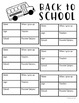 First Day of School Board Form