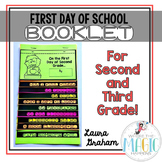 First Day of School Booklet