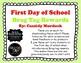 First Day of School Brag Tag Rewards