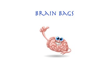 First Day of School Brain Bags