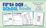 First Day of School Bundle