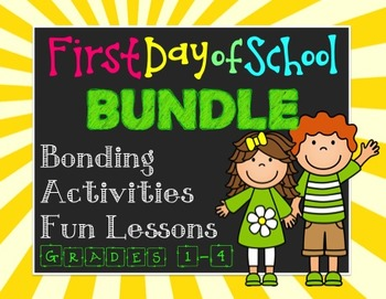 First Day of School Bundle - Team Building - Positive Clas