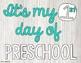 First Day of School Centers - Preschool Freebie