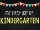 First/Last Day of School {Chalkboard Signs}