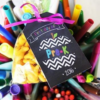 First Day of School Tags