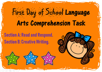 First Day of School Comprehension Task