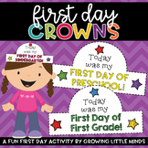 First Day of School Crown