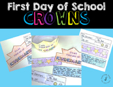 First Day of School Crowns