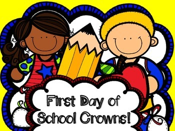 First Day of School Crowns - Headbands- Back to School- Beginning of the Year