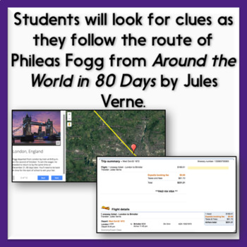 First Day of School Digital Breakout Activity: Around the World & Back to School