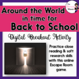 First Day of School Digital Breakout Activity: Around the