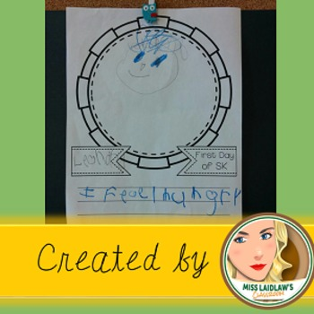 First Day of School - Drawing, Writing, and Reflection Activity
