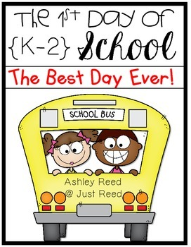 First Day of School {Editable Lesson Plans for K-2}