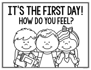 First Day of School Emotions