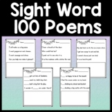 Sight Word Poems for Kindergarten or First Grade {100 Poems!}