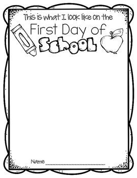 First Day of School {FREEBIE}