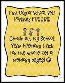 First Day of School FREEBIE