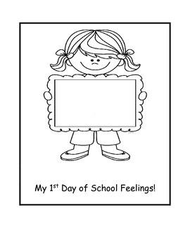 First Day of School Feelings
