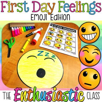 First Day of School Feelings-Emoji Edition