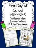 First Day of School Freebies