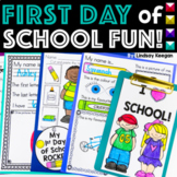 First Day of School Activities for Back to School