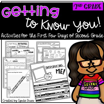 First Day of School - Getting to Know You