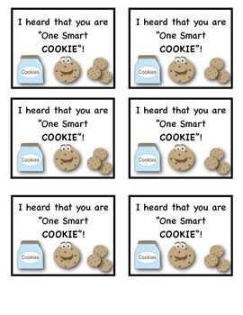 First Day of School Gift (One Smart Cookie)