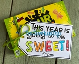 First Day of School Gift Tag, Back to School Gift, Candy,