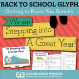 First Day of School Glyph - Back to School