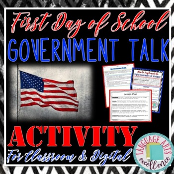 "First Day of School ""Government Talk"""