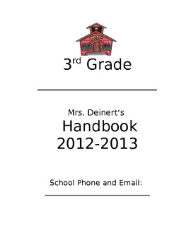 First Day of School Handbook