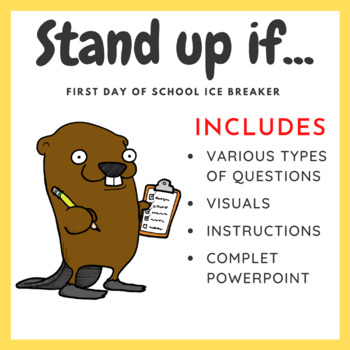 First Day of School Ice Breaker: Stand up if...