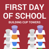 First Day of School Icebreaker: Cup Towers