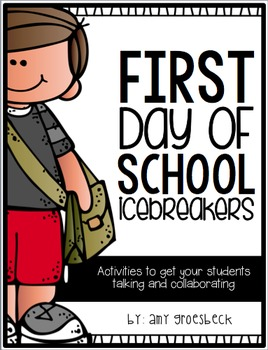 First Day of School Icebreakers