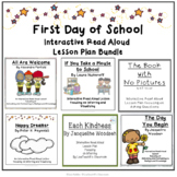 First Day of School Interactive Read Alouds