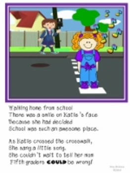 First Day of School Jitters Rhyming Story-Katie Sue, What Will You Do?