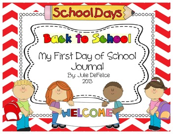 First Day of School Journal