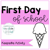 First Day of School Keepsake