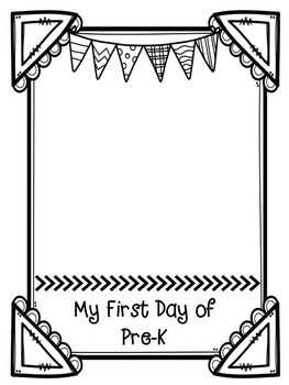 First Day of School Keepsake Paper and Bookmarks Pre-K-9th Grade
