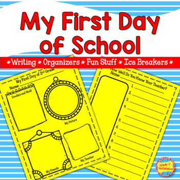 First Day of School for 2nd Grade - Narrative Writing and Fun Activities!