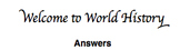 First Day of School Knowledge Quiz- World History