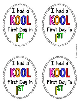 First Day of School Kool Aid Tags {FREEBIE}