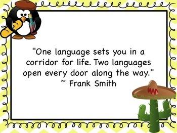 "First Day of School ""Language Talk"""