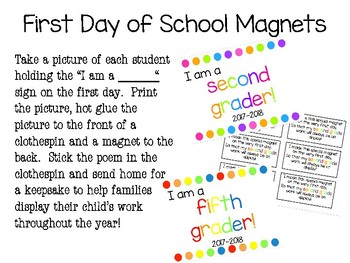 Back to School Magnet Prek-5