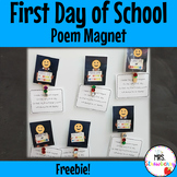 First Day of School Magnet Poem