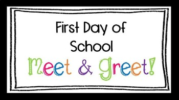 first day of school meet and greet editable powerpoint template