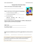 First Day of School Meet and Greet Form