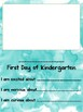 First Day of School Memory Page (2nd Grade)